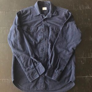 J. Crew Shirts - JCrew Workwear fleece button up